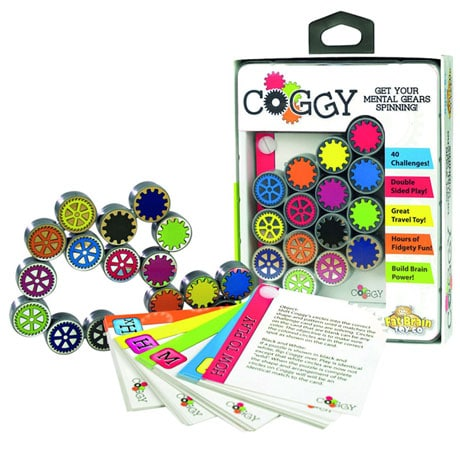 Fat Brain Toys Coggy  Folding Clickig Puzzle Gears Toy and Game