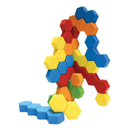 Fat Brain Toys Hexactly Pattern and Puzzle Game