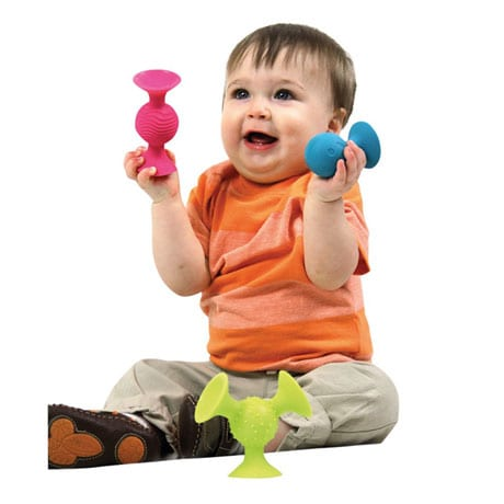 Fat Brain Toys pipSquigz Suction Building Set