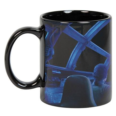 Exclusive Star Wars Rey & Chewie Millennium Falcon Cockpit Hyperspace Heat Changing Coffee Mug