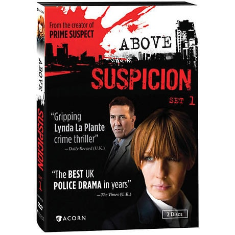 Above Suspicion: Set 1 DVD