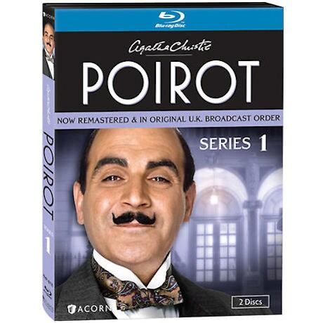 Agatha Christie's Poirot: Series 1 DVD & Blu-ray