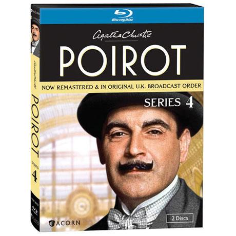 Agatha Christie's Poirot: Series 4 Blu-ray