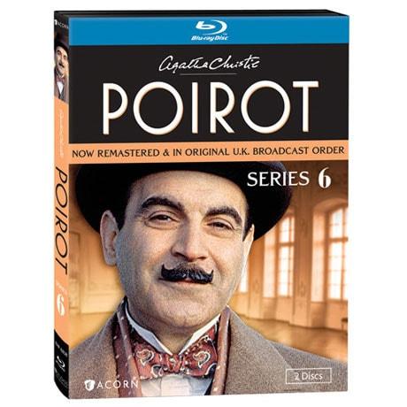 Agatha Christie's Poirot: Series 6 Blu-ray