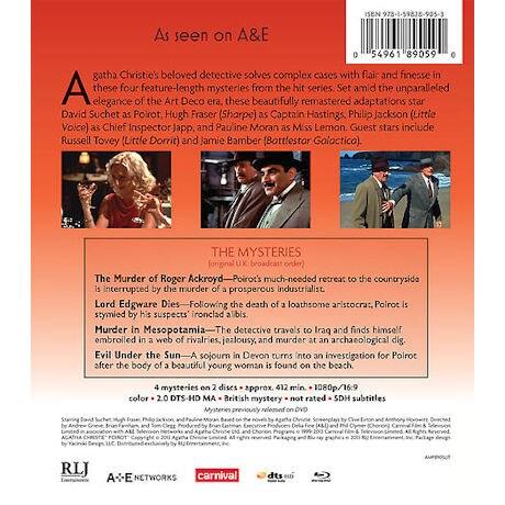 Agatha Christie's Poirot: Series 7-8 DVD & Blu-ray