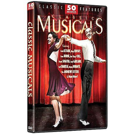 Classic Musicals: 50 Movies DVD