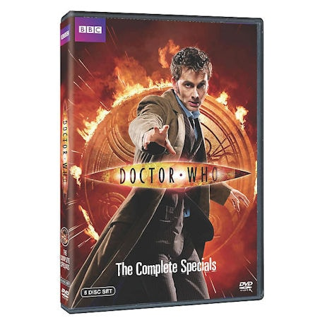 Doctor Who: The Complete Specials DVD