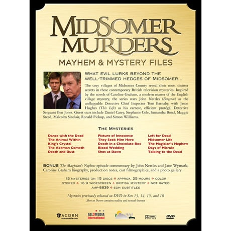 Midsomer Murders: Mayhem & Mystery Files DVD