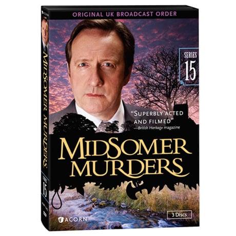 Midsomer Murders: Series 15 DVD