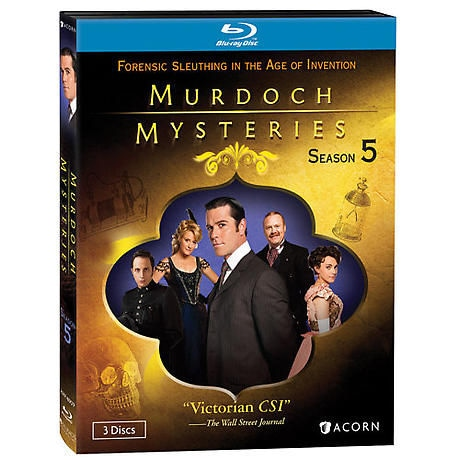 Murdoch Mysteries: Season 5 DVD & Blu-ray