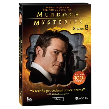 Murdoch Mysteries: Season 8 DVD & Blu-ray
