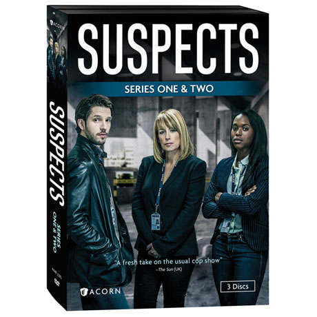 Suspects: Series 1 & 2 DVD