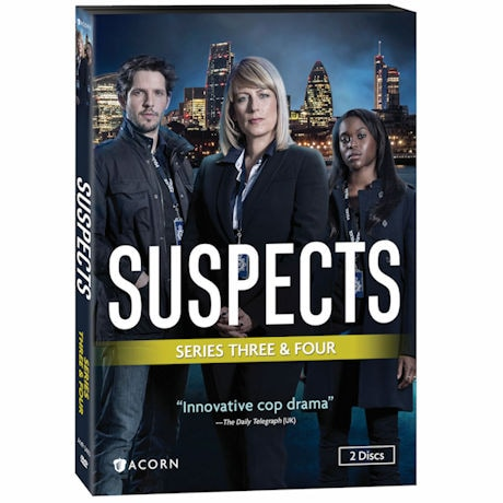 Suspects: Series 3 & 4 DVD