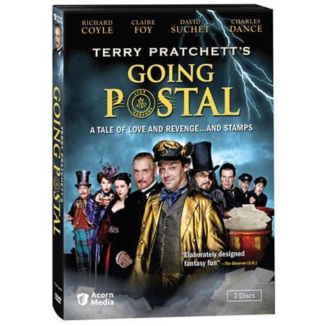 Terry Pratchett Going Postal