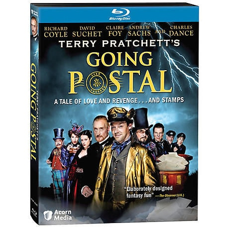 Terry Pratchett Going Postal DVD & Blu-ray