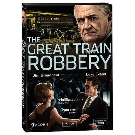 The Great Train Robbery DVD