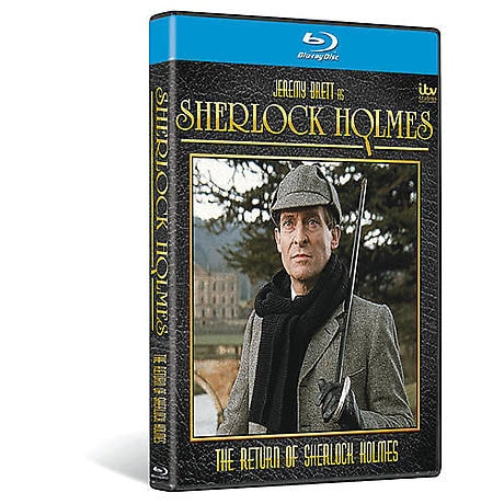The Return of Sherlock Holmes DVD & Blu-ray