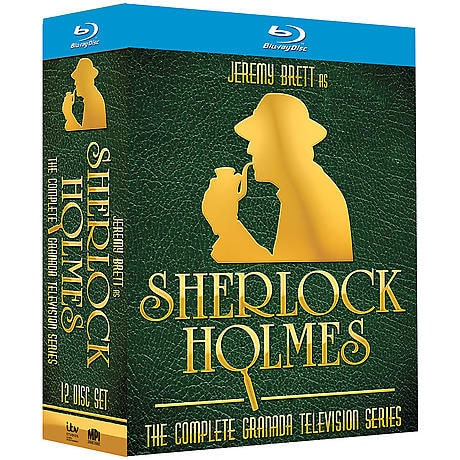 Ultimate Jeremy Brett as Sherlock Holmes Collection