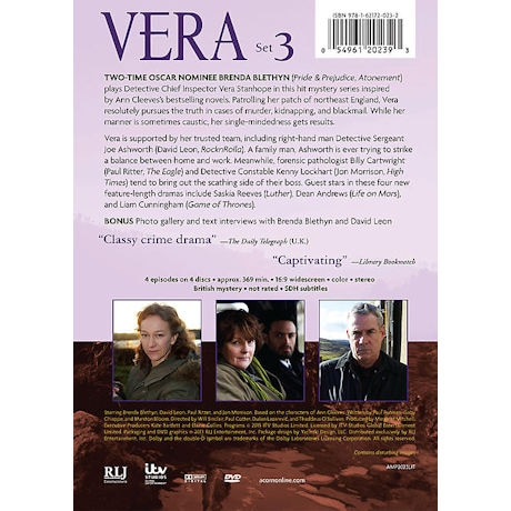 Vera: Set 3 DVD