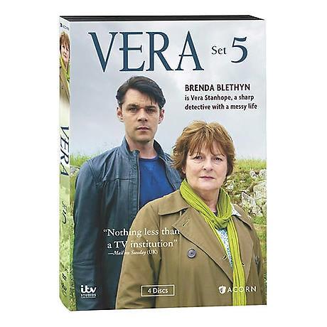 Vera: Set 5 DVD