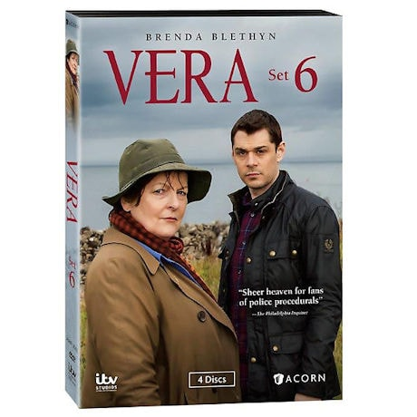 Vera: Set 6 DVD