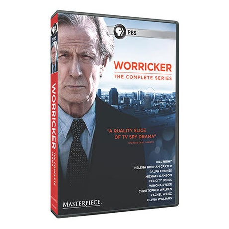 Worricker: The Complete Series  DVD & Blu-ray