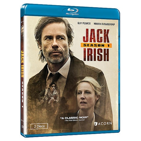 Jack Irish: Season 1 DVD & Blu-ray