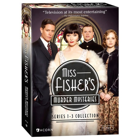 Miss Fisher's Murder Mysteries: Series 1-3 Collection