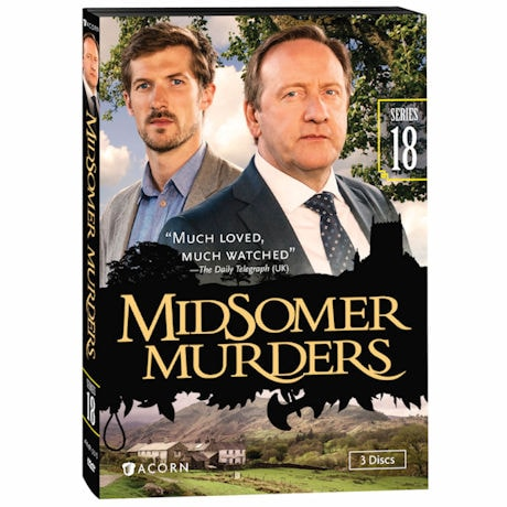 Midsomer Murders: Series 18 DVD & Blu-ray