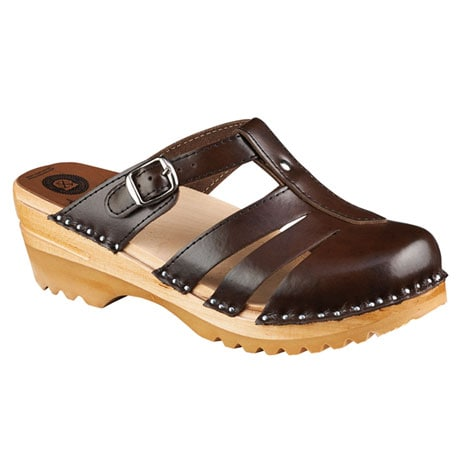 Troentorp Mary Jane Buckle Sandal Clog