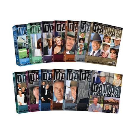 Dallas: The Complete Collection DVD