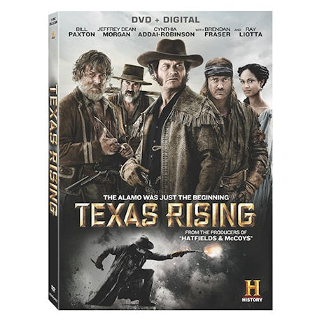 Texas Rising S/3 DVD