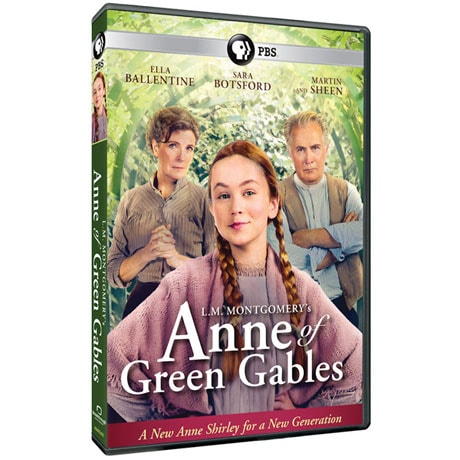 L.M. Mongtomery's Anne of Green Gables DVD