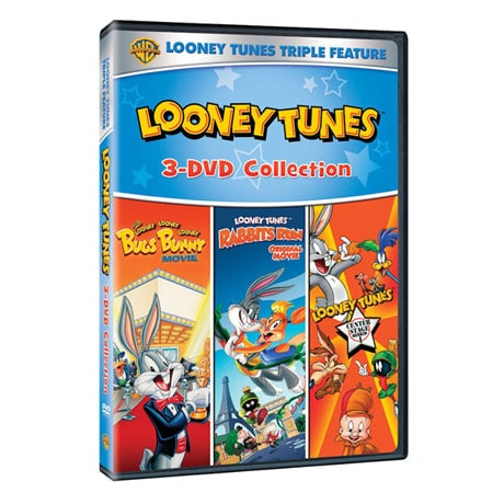 Looney Tunes Triple Feature DVD