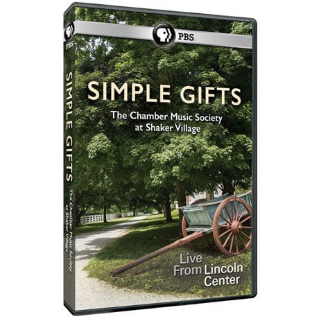 Simple Gifts: The Chamber Music Society at Shaker Village DVD