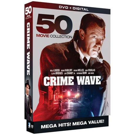 Crime Wave: 50 Movie Collection DVD