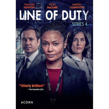 Line of Duty: Series 4 DVD