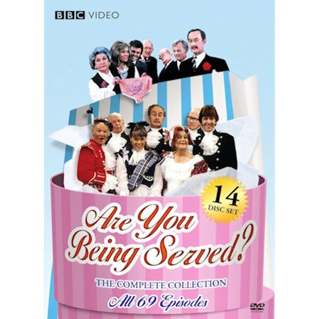 Are You Being Served? The Complete Series DVD