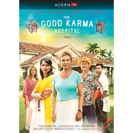The Good Karma Hospital: Series 1  DVD & Blu-ray
