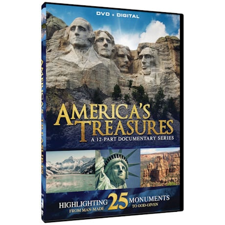America's Treasures: A 12-Part Documentary Series Highlighting 25 Monuments DVD
