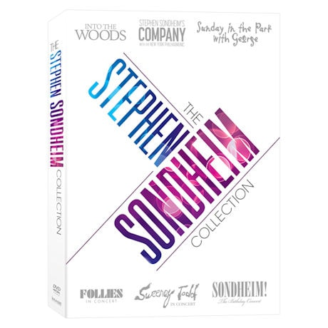 The Stephen Sondheim Collection DVD