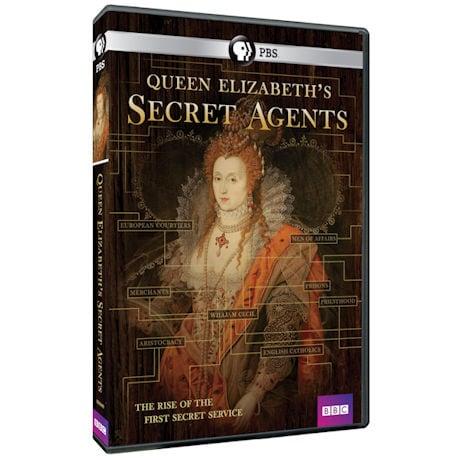 Queen Elizabeth's Secret Agents DVD