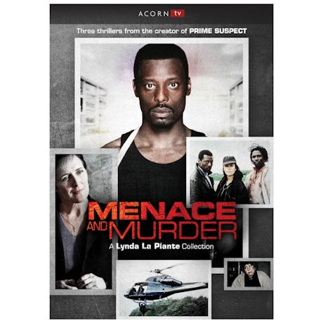 Menace & Murder: A Lynda La Plante Collection DVD
