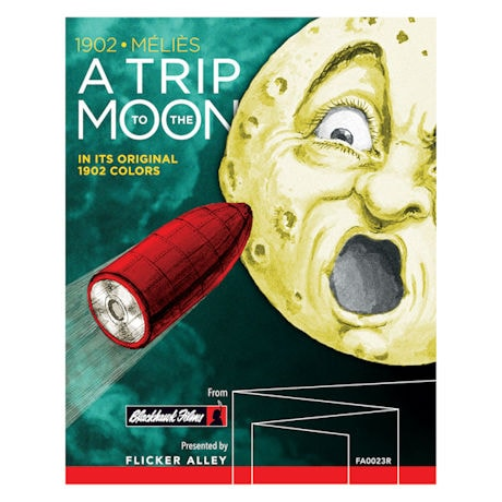 A Trip to the Moon: 1902 Color Edition DVD & Blu-ray