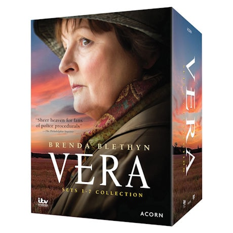 Vera 1-7 Collection DVD