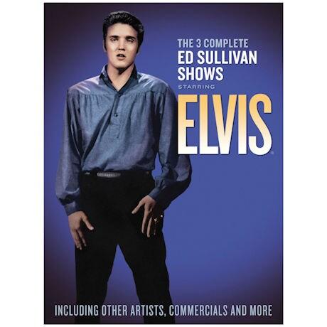 Complete Ed Sullivan Shows Starring Elvis Presley DVD