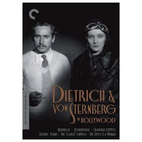 Criterion Collection: Dietrich & von Sternberg in Hollywood DVD