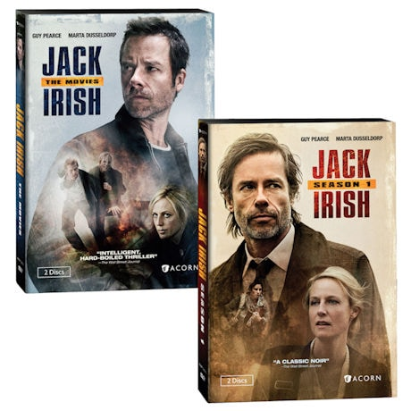 Jack Irish: Season 1 and The Movies Gift Set DVD