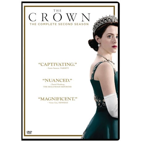 The Crown Season 2 DVD & Blu-ray