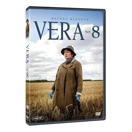 Vera: Set 8 DVD